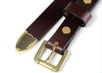 20mmWESTERN LONG BELT (CHOCO)
