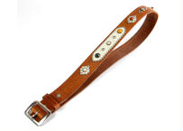 40mm STUDS BELT (CAMEL)