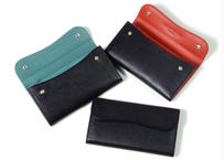 FLAP LONG WALLET-BK