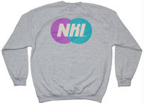 Nhl Sporting logo crewneck sweat /Ash