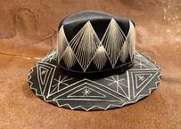 """[IMP-HAT-BLK-01] IMPORT MEXICAN HAT  """"BLACK-01"""""""