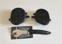 エアロバイク用ペダル(左右セット)2020年版+ペダルレンチセット