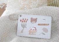 パスケース『クマとショートケーキ』