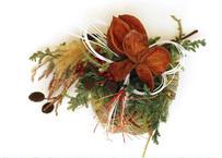 <送料無料> 【Flower & Wreath design etela エテラ】2021お正月 しめ縄リース(商品コード:TG300083)