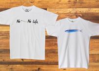 【浜野水産Tシャツ】①『NOしらすNO Life』②『鰯』~送料込み~(商品コード:TA110072)