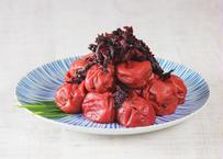 【山川食品】 小田原産 無添加 しそ梅干し 460g 2パック (商品コード:TF090080)