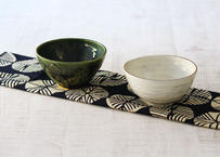 【ハルカゼ舎】ご飯茶碗 (緑/白)(商品コード:TG100065)