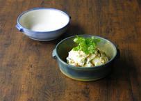 【ハルカゼ舎】グラタン皿(青緑/水色)(商品コード:TG100240)
