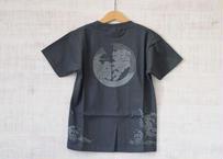「茅ヶ崎Tシャツ」田村屋オリジナルデザイン グレー×ライトグレー(送料込み)(商品コード:TA190365)