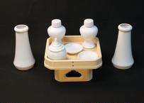神饌土器セット(遠山三宝付) 【大】