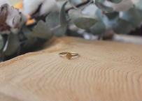 【Ery】stone blass ring<真鍮リング>9号