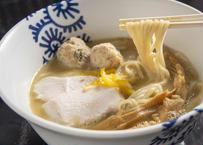 純鶏そば(濃厚鶏白湯塩味)×4食セット