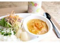 【cafe-nee】[宅配]エビとホタテのココナッツカレー