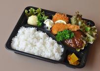 【nee-mart県庁前店】[宅配]エビフライ&ハンバーグお弁当