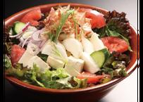 【炉端かば鳥取駅前店】鳥取県産ねばりっこのサラダ(青じそ)