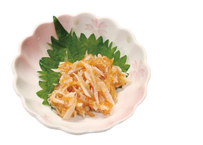 【炉端かば鳥取駅前店】サメ軟骨の梅肉和え