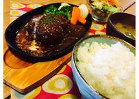 【TOTTORI COFFEE ROASTER】浜ちゃんのハンバーグランチ(アフターコーヒー付き)
