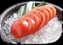 【炉端かば鳥取駅前店】トマトスライス