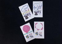 らびしゃんの変身カード