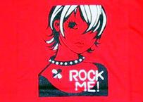 スギザキメグミTシャツ ROCK ME! レッド