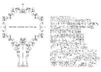 PRINTERS FLOWERS OLD TYPE 003