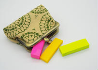 菫(sumire) がま口 財布 コインケース 2.5寸サイズ(横9.5cm ✖︎縦7.5cm)