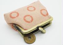 栞(shiori) がま口 財布 コインケース 2.5寸サイズ(横9.5cm ✖︎縦7.5cm)