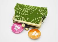 香(kaori) がま口 財布 コインケース 2.5寸サイズ(横9.5cm ✖︎縦7.5cm)