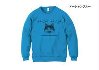 【保護猫活動支援】キッズスウェット「ゆきちver.」