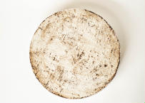 白化粧高台皿リバーシブル8寸