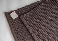 フェイスタオル 茶/織布gecko