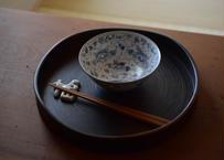 お碗(牡丹唐草)/スズキヨウコ