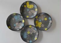 黒陶丸皿 /cocochi
