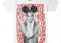 mouse earプリントTシャツ
