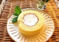 お米の生クリームロールケーキ (カット個包装)