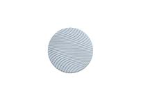 Ceramic Plate:WAVY GRAY