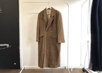 80-90s cashmere wool chesterfield coat