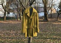 kenzo corduroy doubole coat