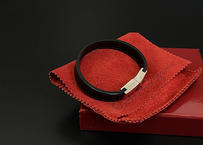 2019ss salvatore ferragamo leather bracelet dead stock