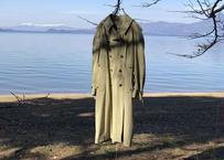 90s hiroko koshino trench coat