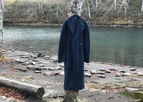 giorgio armani double chesterfield coat