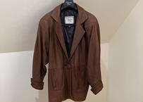 80-90s christian dior leather jacket