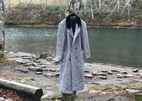 70s made in USA tweed double coat