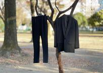agnes b madein Flance tuxedo set up suit dead stock
