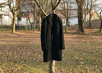 90s cashmere wool chesterfield coat