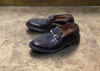 gucci heel bit loafers 42