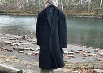 80-90s double chesterfield coat