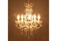 ✧LED電球対応✧ 5灯シャンデリア ♪アリス♪