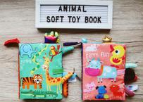 Animal's soft toy book / ベビー布絵本アニマル♡