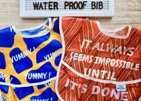 African print Waterproof bib / アフリカンプリントお食事用エプロン[防水]2枚セット